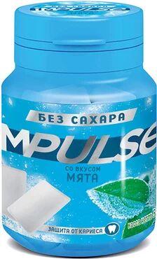 «Impulse», жевательная резинка со вкусом «Мята», 56 г