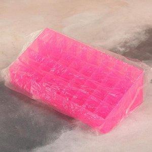 Органайзер для маникюрных/косметических принадлежностей, 36 секций, 24,5 ? 11 ? 7,3 см, цвет МИКС