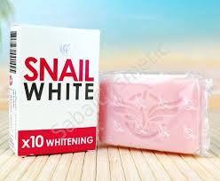 Отбеливающее улиточное мыло Snail White