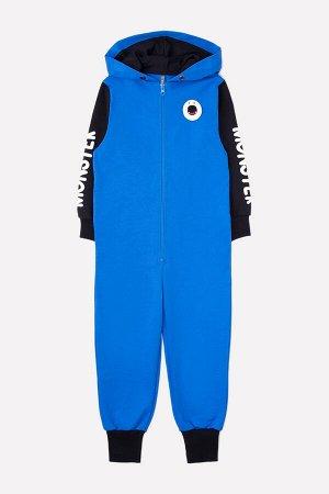 Комбинезон для мальчиков Crockid КР 6334 ярко-голубой к270