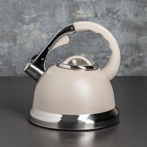 Чайник со свистком «Пуэрто», 3 л, индукция, цвет МИКС