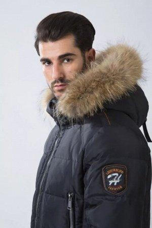 Мужская зимняя куртка Hermzi, цвет Deep Navy Темно-синий