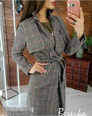 Пальто Замеры изделия: плечи 34, ОГ 88, длина рукава по внутреннему шву 48, длина 104. Сезон весна/осень