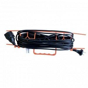 Удлинитель на рамке FN1-0610-SMART одноместный без заземления 6А 10м 8661 IN HOME