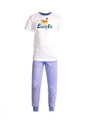 Пижама для девочек арт 11349