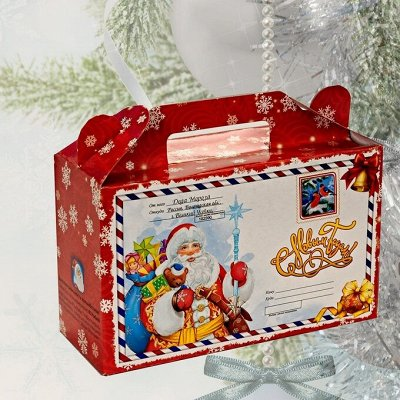 Сладкие подарки на Новый год! Конфеты, наборы! — Подарки в картонной упаковке — Шоколад