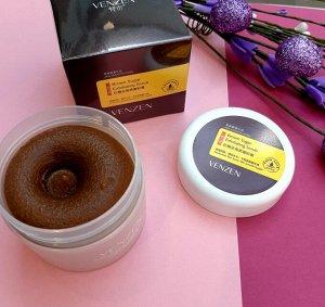 Крем-скраб отшелушивающий на основе коричневого сахара, Venzen 100 гр