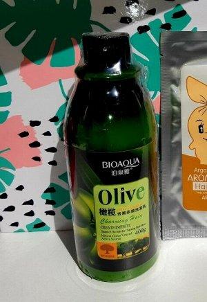 Шампунь д/волос с экстрактом оливок Bioaqua 400 мл