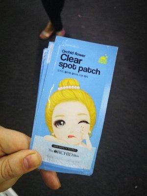 Патчи очищающие точечные от акне Clear Spot Patch, Корея