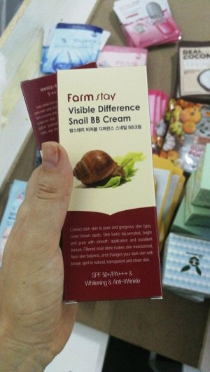 ББ крем восстанавливающий  FARMSTAY 50 гр, Корея