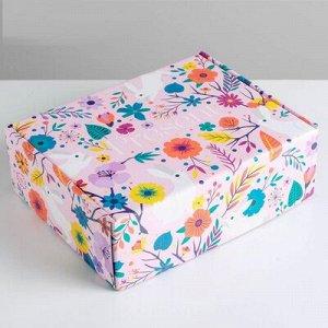 Коробка пенал складн 2х сторон 27х21х9см