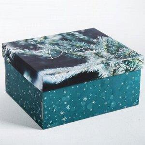 Коробка складная НГ 30х24х15см