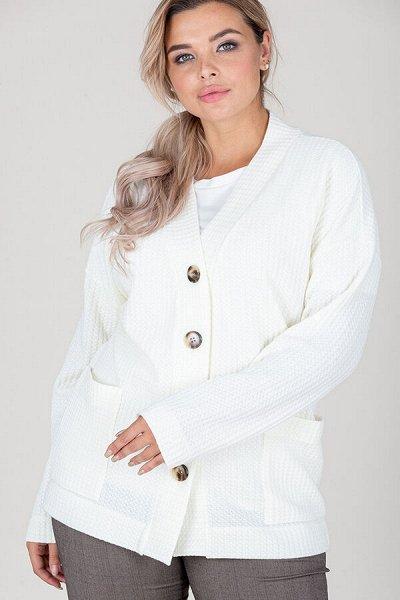 ТМ Еliseeva Оlesya size plus женская одежда от 48 размера — Кардиганы и жакеты ELISEEVA size plus
