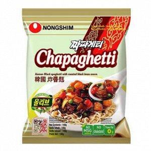 """Лапша """"Нонгшим"""" (сушеная) Chapaghetti - мясной соус, 140 г"""