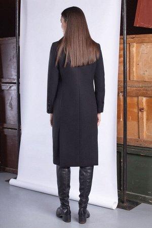 Пальто Пальто ЮРС 20-294/1  Состав ткани: ПЭ-75%; Шерсть-5%; Акрил-20%;  Рост: 164 см.  Пальто классического фасона, которое будет актуально всегда. Это прекрасная возможность дополнить ваш гардероб