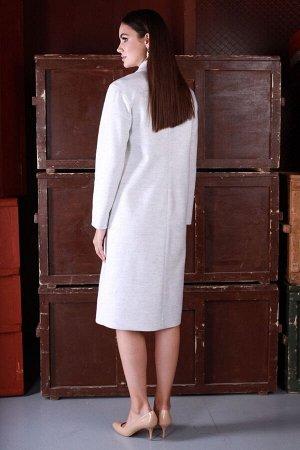 Пальто Пальто ЮРС 20-378/1  Состав ткани: ПЭ-75%; Шерсть-5%; Акрил-20%;  Рост: 164 см.  Спокойная цветовая гамма, а также простой крой пальто, подойдет женщинам с любой фигурой. Такое пальто подчерки
