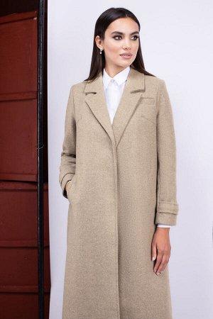 Пальто Пальто ЮРС 20-431/1  Состав ткани: ПЭ-75%; Шерсть-5%; Акрил-20%;  Рост: 164 см.  Пальто – элемент в женском гардеробе, обойтись без которого трудно самой продвинутой и модной леди. Оно п