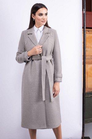 Пальто Пальто ЮРС 20-431/2  Состав ткани: ПЭ-75%; Шерсть-5%; Акрил-20%;  Рост: 164 см.  Пальто – элемент в женском гардеробе, обойтись без которого трудно самой продвинутой и модной леди. Оно п