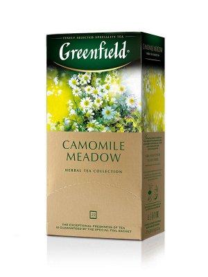 Чай Гринфилд Camomile Meadow, 25пак