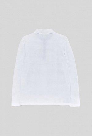 Сорочка-поло верхняя детская для мальчиков Sova белый