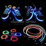 Светящиеся LED шнурки оптом