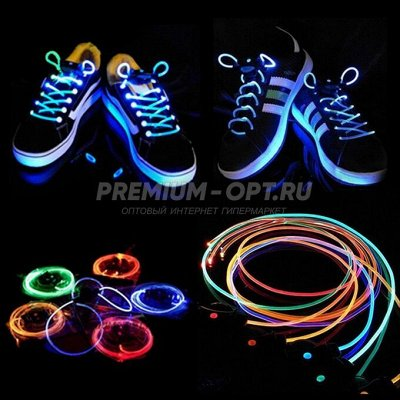 🍉МУЛЬТИ🍎ДЕТСКИЙ ПРИСТРОЙ! Быстрая доставка в ПВ  — Светящиеся шнурки. ХИТ ПРОДАЖ! — Игрушки и игры