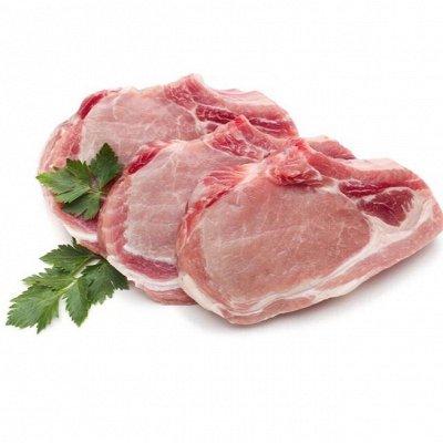 Свинина и говядина 102. Шея 345 руб/кг. Лопатка 279 руб/кг — Стейки из шеи. Заволжский МК — Свинина