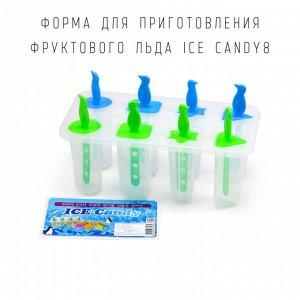 Форма для приготовления фруктового льда ICE CANDY8