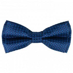 Бабочка Цвет синий. Состав микрофибра 100%. Длина, см 12. Ширина, см 6. Фактура узор