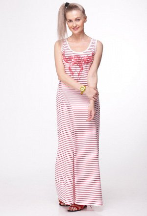 Платье HIT 4003 полоска