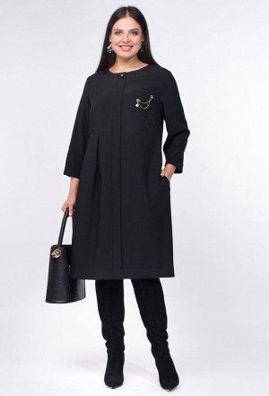 Платье Amelia Lux 3450 черный