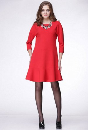 Платье Lenata 11634 красный