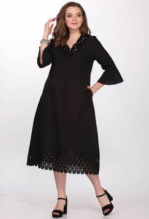 Платье Elletto 1706 черный