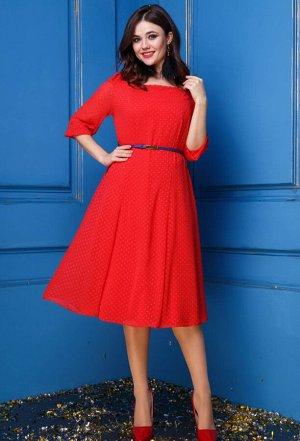 Платье Anastasia 245 красный