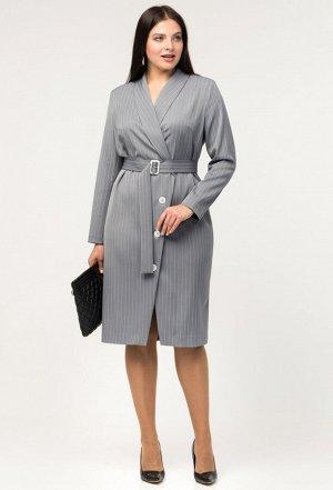 Платье Amelia Lux 3434 серый