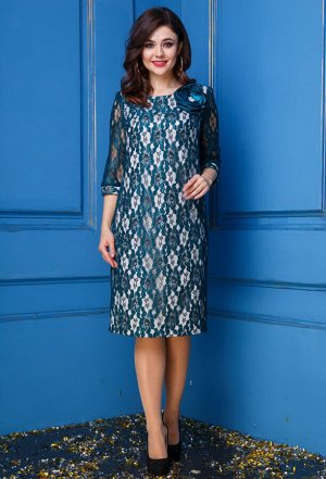 Платье Anastasia 244 зеленый
