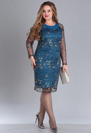 Платье Anastasia Mak 678 морская волна