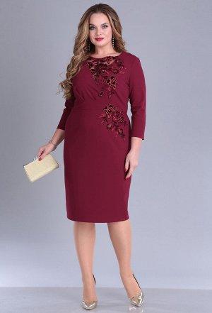 Платье Anastasia Mak 676 бордо