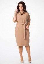 Платье Amelia Lux 0649 рыжий