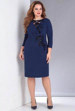 Платье Anastasia Mak 676 синий