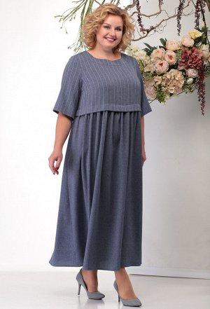 Платье Michel Chic 2012 синий полоска