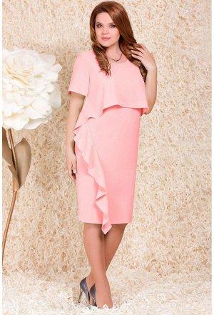 Платье Lenata 11786 розовый