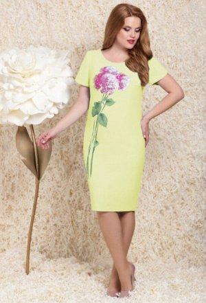 Платье Lenata 11781 желтый