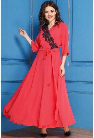 Платье Anastasia 267 красный