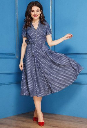 Платье Anastasia 279 синий