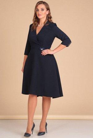 Платье Lady Line 438 синий