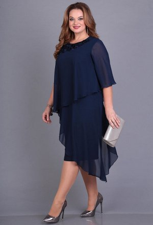 Платье Anastasia Mak 671 синий