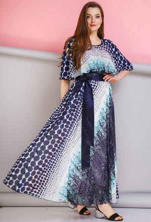 Платье Anastasia 263 бирюза