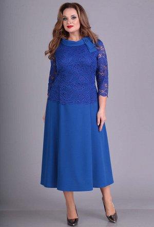 Платье Anastasia Mak 665 василек