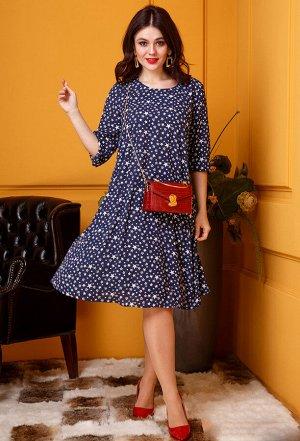 Платье Anastasia 356 синий